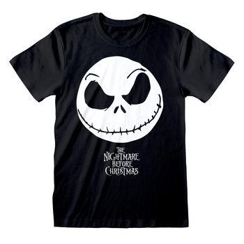 Tim Burton's The Nightmare Before Christmas - Jack Face T-shirt