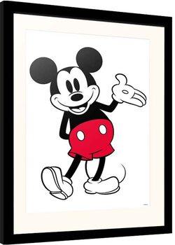 Poster encadré Disney - Mickey Mouse - Classic