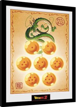 Poster encadré Dragon Ball Z - Dragon Balls