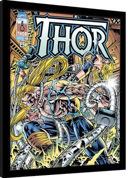Poster encadré Marvel Comics - Thor Tentacles