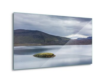 Tableau sur verre Iceland