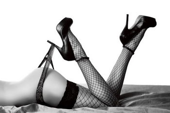 Tableau sur verre Passionate Woman - Sexy Legs
