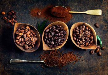 Tableau sur verre Rich Coffee