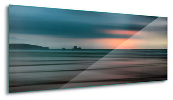 Tableau sur verre  The Painted Beach