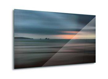 Tableau sur verre The Painted Beach