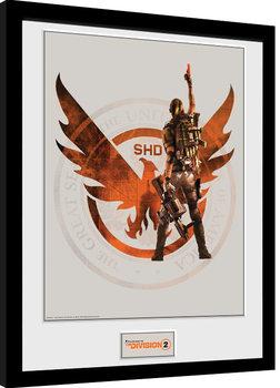 Poster encadré The Division 2 - SHD