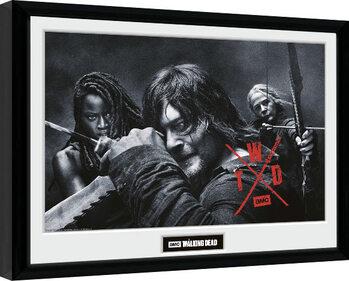 Poster encadré The Walking Dead - Season 10 Group