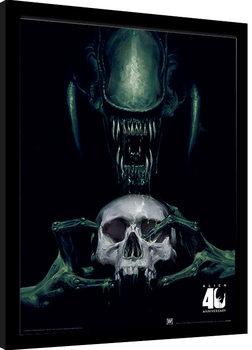 Alien: Vision of Death - 40th Anniversary Poster encadré