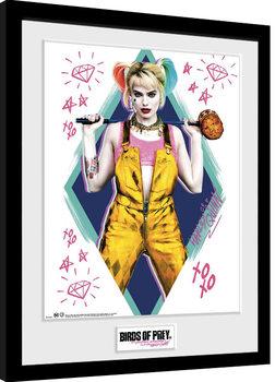 Birds Of Prey: et la fantabuleuse histoire de Harley Quinn - Harley Quinn Poster encadré