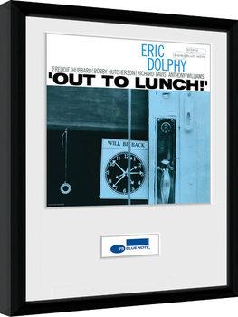 Blue Note - Dolphy Poster encadré