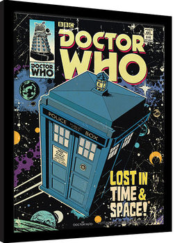 Doctor Who - Lost In Time And Space Poster encadré