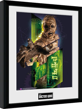 Doctor Who - Mummy Poster encadré