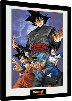 Dragon Ball Super - Future Group Poster encadré