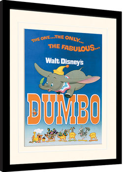 Dumbo - The Fabulous Poster encadré