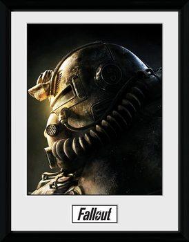 Fallout 76 - T51b Poster encadré