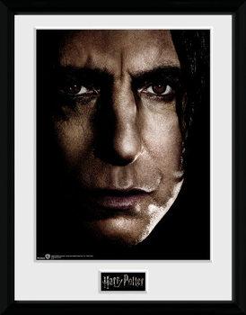 Harry Potter - Snape Face Poster encadré