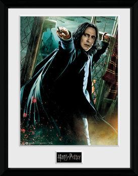Harry Potter - Snape Wand Poster encadré