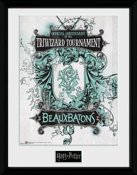 Harry Potter - Triwizard Beaux Batons Poster encadré
