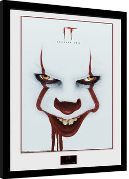 IT: Chapter 2 - Face Poster encadré