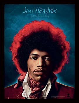 Jimi Hendrix - Both Sides of the Sky Poster encadré