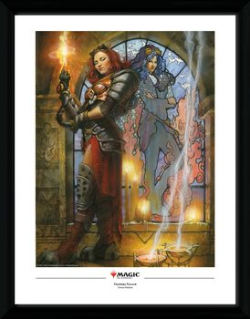 Magic The Gathering - Chandra, Torch of Defiance Poster encadré