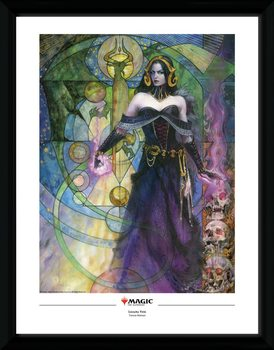 Magic The Gathering - Liliana, Untouched by Death Poster encadré