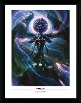 Magic The Gathering - Nicol Bolas, Dragon God Poster encadré