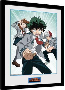 My Hero Academia Poster encadré
