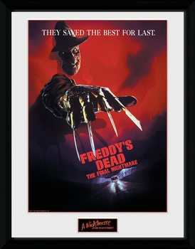 Nigtmare On Elm Street - The Final Nightmare Poster encadré