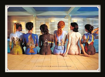 Pink Floyd - Back Catalogue Poster encadré