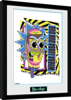 Rick and Morty - Crazy Poster encadré