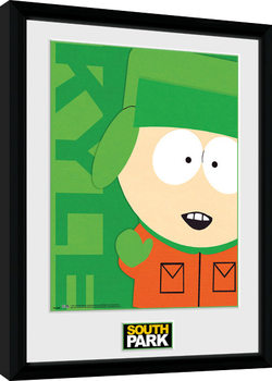 South Park - Kyle Poster encadré