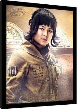 Star Wars, épisode VIII : Les Derniers Jedi - Rose Stance Poster encadré