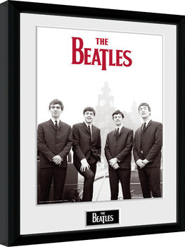 The Beatles - Boat Poster encadré