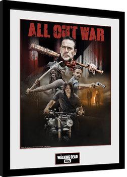 The Walking Dead - Season 8 Collage Poster encadré