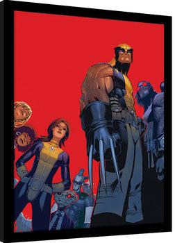 X-Men - Wolverine And The X-Men Poster encadré
