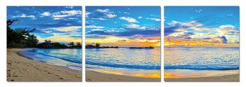 Blue Coast Tableau Multi-Toiles