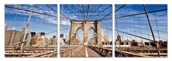 Brooklyn bridge Tableau Multi-Toiles