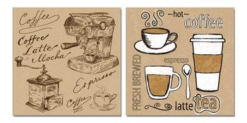 Coffee Tableau Multi-Toiles