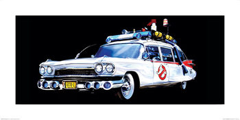 Ghostbusters - Car Reproduction d'art