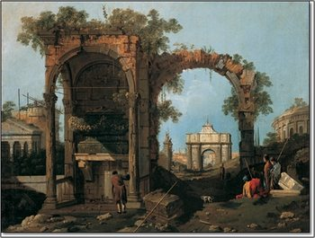Gianola - Paesaggio II Reproduction de Tableau