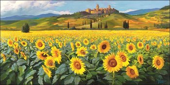 Girasoli Reproduction d'art