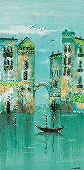 Green Venice Reproduction de Tableau