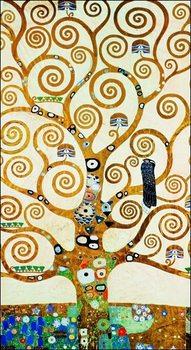 Gustav Klimt - Albero Della Vita Reproduction de Tableau