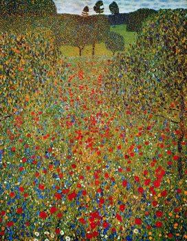 Gustav Klimt - Il Prato Reproduction de Tableau