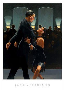 Jack Vettriano - Rumba In Black Reproduction de Tableau