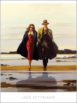 Jack Vettriano - The Road To Nowhere Reproduction de Tableau