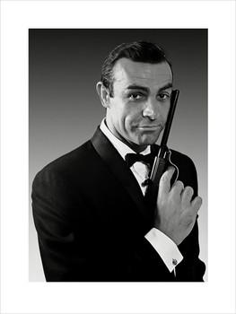 James Bond 007 - Connery Reproduction de Tableau