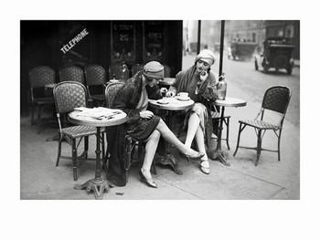 Jeunes Femmes 1925 Reproduction d'art