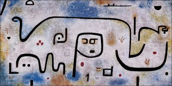 Klee - Insula Dulcanara Reproduction d'art